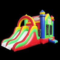 [GB491]inflatable bouncer slide combo