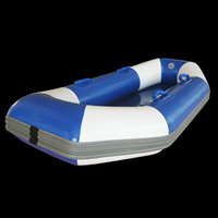 Blue inflatable boatGT129