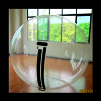 [GW104]Transparent Inflatable PVC/TPU Water Ball
