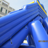 Large Blue Inflatable Water SlidesGI143