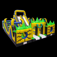 [GF055]inflatable Haier brothers funland
