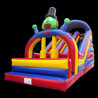 [GI145]Inflatable Clown Slides