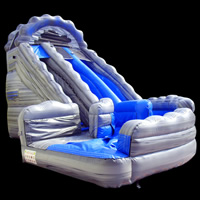 Aufblasbare wasserrutsche mit pool pango inflatable co ltd - Wasserrutsche fur pool ...
