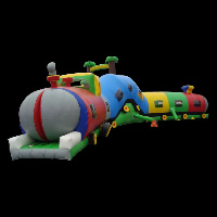 camouflage wall inflatable obstaclesGE029